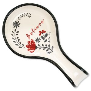 Scribble's Believe Spoon Rest
