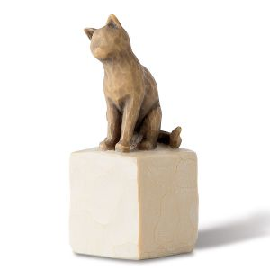 "Willow Tree® ""Love My Cat"" Figurine"