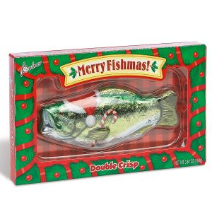 Merry Fishmas Chocolate Bass