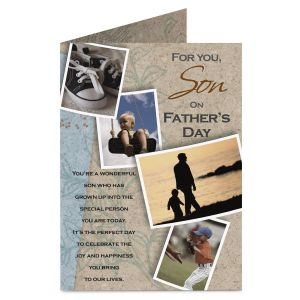 Son Father's Day Card