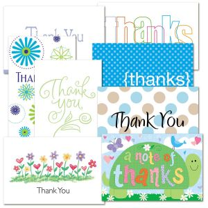 Casual Thank You Cards Value Pack