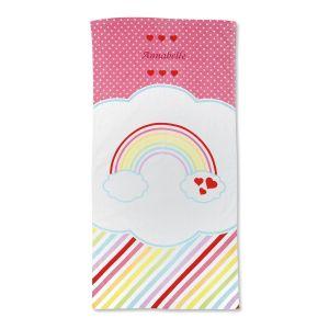 Rainbow Beach Towel by Designer Maureen Anders
