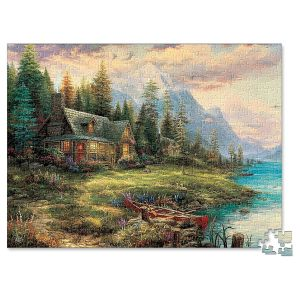 A Father's Perfect Day Puzzle by Thomas Kinkade