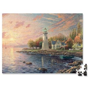 Serenity Cove Puzzle by Thomas Kinkade