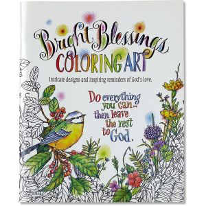 Bright Blessings Coloring Art Book