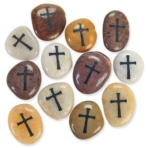 Cross Worry Stone