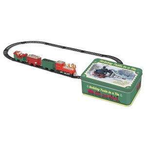 Christmas Train in A Tin