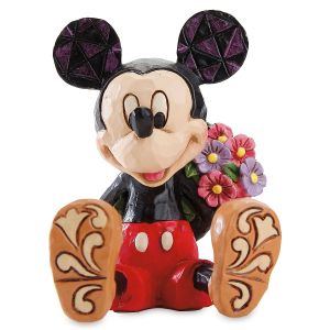 Mini Mickey Mouse Figurine by Jim Shore