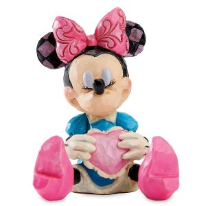 Mini Minnie Mouse Figurine by Jim Shore