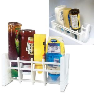 Upside-Down Bottle & Jar Rack