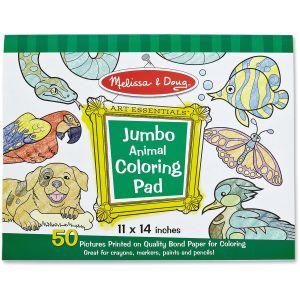 Animals Jumbo Coloring Pad by Melissa & Doug®