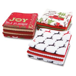 Christmas Microfiber Cloths