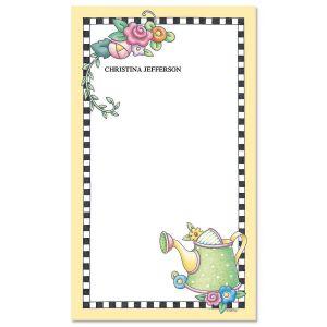 Mary's Garden Notepad