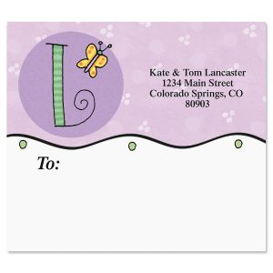 Sue Dreamer Initials Package Label