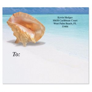Calm Seas Package Label