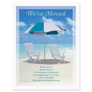 Moving Calm Seas Postcard