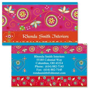 Marrakesh Double-Sided Business Cards