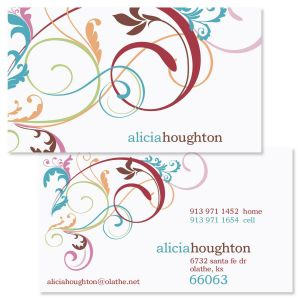 Fantasia 2-Sided Calling Cards