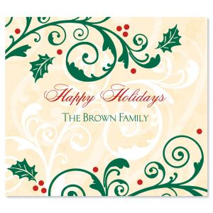 Fine Holiday Personalized Canning Labels