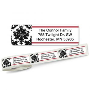 Alexandria Rolled Address Labels