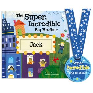 Super Incredible Big Brother Storybook
