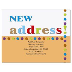 New Address! Postcard