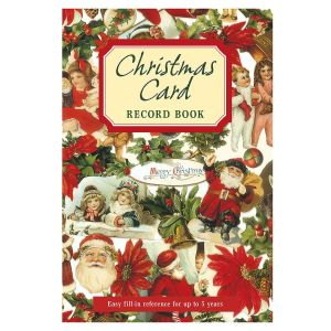Victorian Christmas Record Book