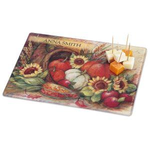Plentiful Harvest Personalized  Cutting Board