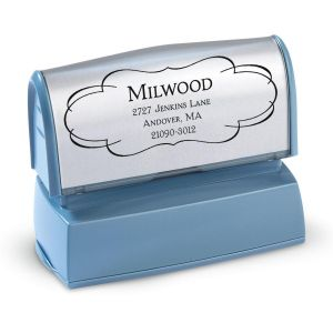 Elegant Frame Pre-Inking Address Stamper