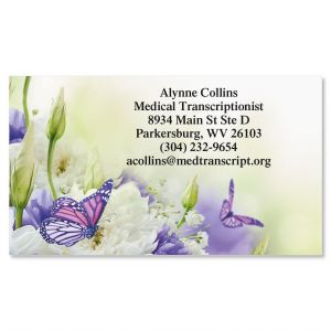 Beautiful Butterfly Business Cards