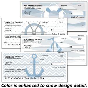 Nautical Chic Checks