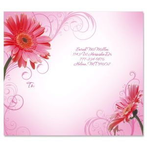 Grand Gerbera Package Labels