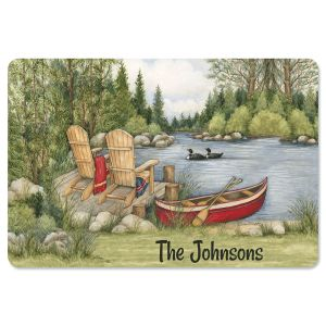 Personalized Lakeside Doormat