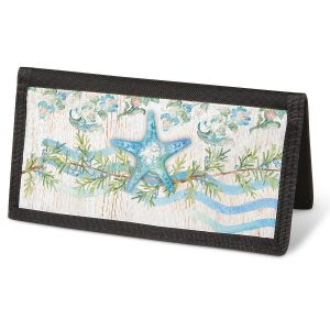 Ocean Tide Checkbook Cover - Non-Personalized