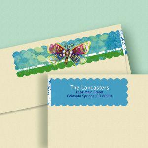 Spirit Wings Wrap Around Address Labels (4 Designs)
