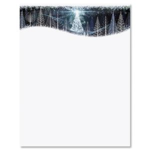 Christmas Twilight Christmas Letter Papers