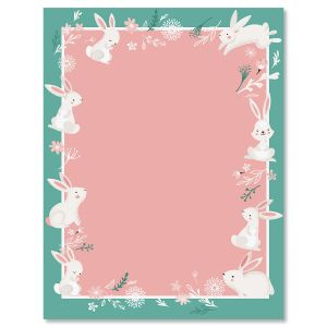 Spring Bunnies Easter Letter Papers
