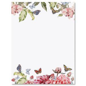 Flutter of Florals Easter Letter Papers