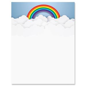 Rainbow in the Clouds Letter Papers