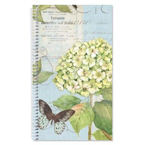 Hydrangea Nature Internet Password and Pin Keeper