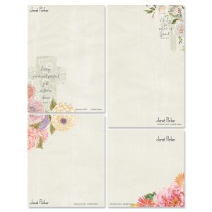 Faithful Florals Memo Pad Sets