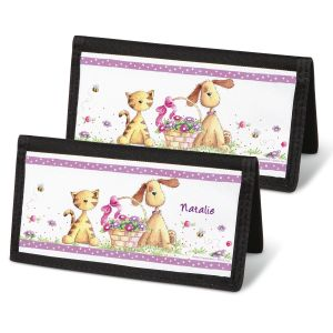 Cats & Dogs Checkbook Covers