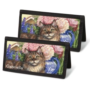 Feline Artistry Checkbook Covers