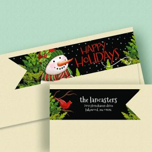 Tweet Greetings Wrap Around Address Labels