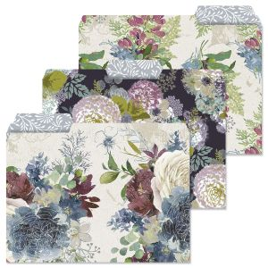 Fall Florals File Folders