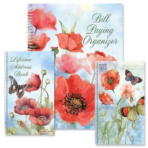 Spring Poppies Organizers