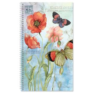 Spring Poppies Password/PIN Keeper