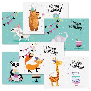 Birthday Animals Kids Birthday Value Pack