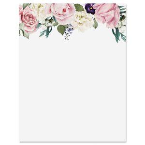 Rose Garden Letter Papers