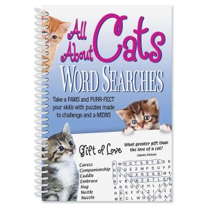 All About Cats Word Searches Book